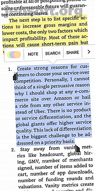 Vous voulez une application de lecture de livre électronique pour Android avec un excellent support d'annotation?  Nous avons plusieurs excellentes options parmi lesquelles choisir.