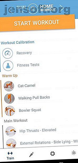 Vous pouvez obtenir une excellente séance d'entraînement avec seulement votre corps et votre téléphone.  Ces applications Android et iPhone vous aident à faire de l'exercice n'importe où.