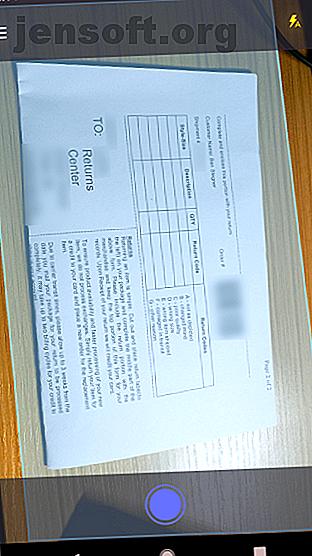 ZipScan est une nouvelle application de MakeUseOf qui facilite la numérisation de documents avec votre téléphone.  Voici comment l'utiliser.