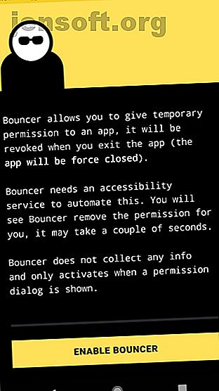 Vous voulez utiliser les applications Android mais sans leur donner la permission?  Cette application vous permet d'accorder des autorisations temporairement pour n'importe quelle application.