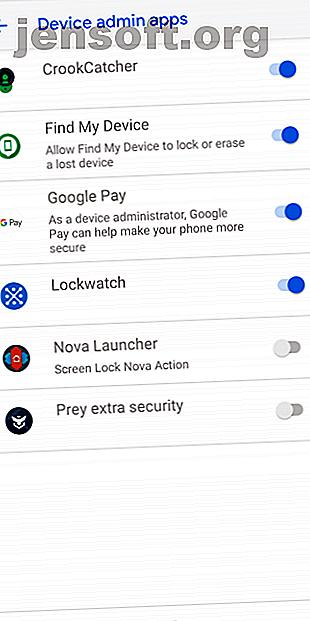 Ces applications Android prennent des photos de personnes qui tentent de déverrouiller votre téléphone et échouent.  Attrapez les voleurs de téléphones et les voleurs en flagrant délit!