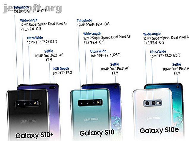 Samsung hat seine neuesten Smartphones der Galaxy S10-Reihe angekündigt.  Folgendes sollten Sie über sie wissen.