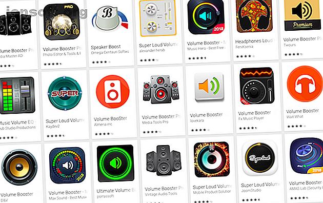 Suchen Sie nach einem Lautstärkeregler für Android-Geräte, um einen lauteren Klang zu erzielen?  Vermeiden Sie die Fälschungen und sehen Sie sich diese fantastischen Android-Apps an, die den Sound verbessern.