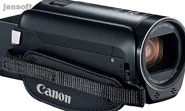 Vous souhaitez filmer des vidéos mais ne voulez pas vous fier au stockage ou à la batterie de votre smartphone?  Vous avez besoin d'un caméscope!