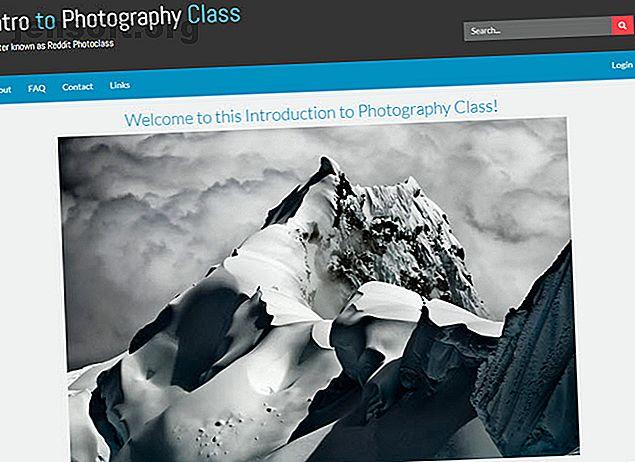 Recherchez-vous des cours de photographie en ligne?  Ensuite, faites votre choix parmi ces excellentes leçons.