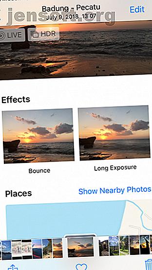 Bien que vous ne le pensiez peut-être pas, il existe plusieurs façons de prendre des photos à longue exposition avec un iPhone.  Voici trois méthodes.