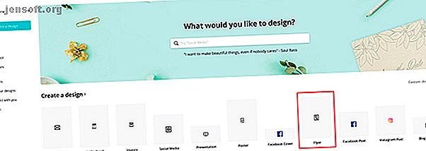 कैनवा एक अद्भुत डिजाइन वेबसाइट है जो आपको कुछ भी बनाने में मदद करती है।  यहाँ कैसे किसी भी अवसर के लिए उपयुक्त कैनवा में एक फ्लायर बनाने के लिए है।