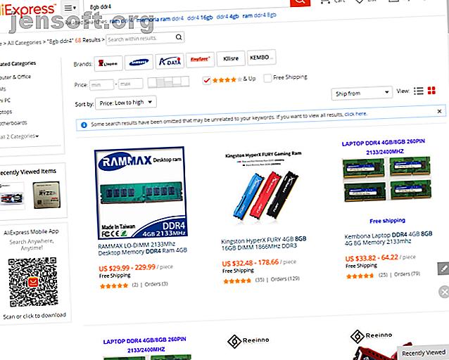 Vous cherchez à acheter des pièces d'ordinateur bon marché?  Voici plusieurs magasins en ligne offrant des prix bas sur du matériel informatique de qualité.