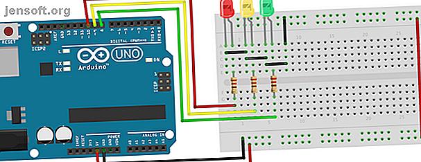 ¡Construir un controlador de semáforo Arduino lo ayuda a desarrollar habilidades básicas de codificación!  Te ayudamos a comenzar.