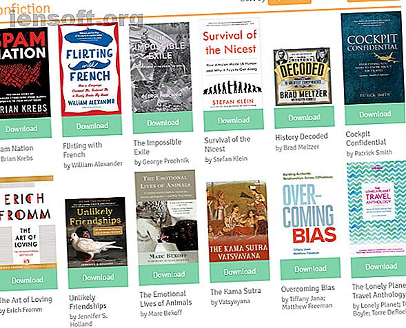 Il existe de nombreux endroits pour acheter des livres électroniques en ligne autres que le Kindle Store d'Amazon.  Voici les meilleurs magasins d'ebook en ligne.