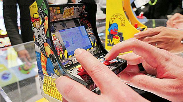 Les joueurs d'arcade miniatures de My Arcade sont remplis d'amusements de jeu rétro personnels de l'âge d'or des arcades.