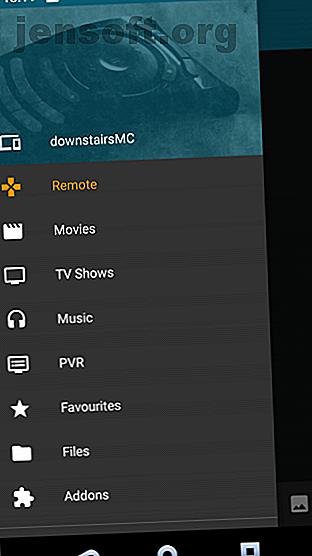 Voici toutes les différentes options disponibles pour une télécommande Kodi, vous permettant de tout contrôler à votre convenance.