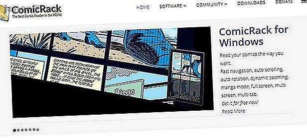 Se hai una vasta selezione di fumetti digitali, puoi usare ComicRack per sfogliare, ordinare e visualizzare i tuoi fumetti.