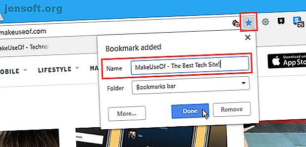 Les signets du navigateur ont besoin de notes pour vous aider à les gérer.  Voici comment vous pouvez ajouter des notes à vos favoris dans Chrome et Firefox.