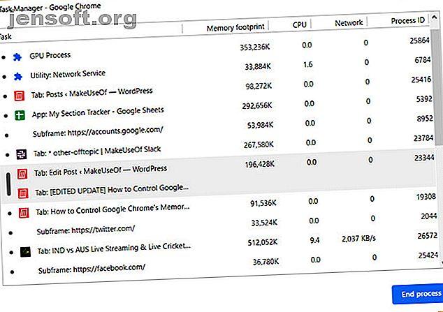 Chrome utilise-t-il trop de mémoire?  Nos conseils limiteront et réduiront l'utilisation de la mémoire par Chrome pour libérer de la RAM.