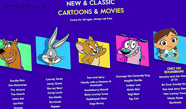 Vous vous demandez où vous pouvez regarder de vieux dessins animés sur le Web?  Regardez gratuitement des épisodes complets de dessins animés classiques sur ces sites.