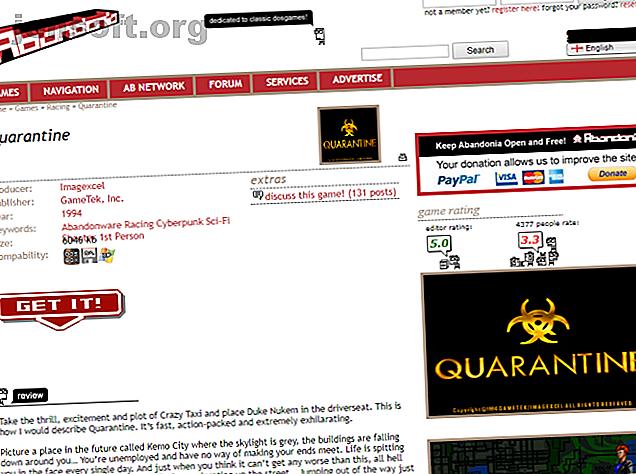 Vous voulez essayer de télécharger gratuitement d'anciens jeux PC?  Voici les sites où vous pouvez trouver les meilleurs jeux d'antan, gratuits à télécharger.