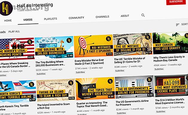 Si vous aimez apprendre à partir d'une chaîne YouTube telle que CGP Gray, voici quelques-unes des meilleures chaînes alternatives disponibles.