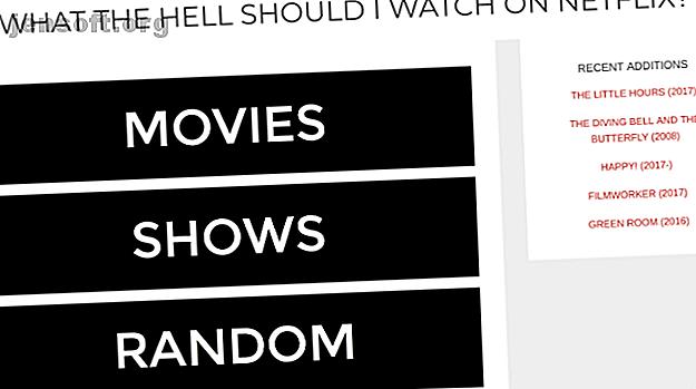 """Pensez-vous: """"Que dois-je regarder sur Netflix?""""  Voici quelques moyens rapides d'obtenir une réponse avec ces sites de recommandation."""