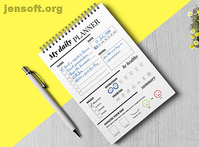 Les planificateurs imprimables présentent une simplicité avec laquelle les applications ne peuvent pas correspondre.  Utilisez ces beaux planificateurs en papier pour faire avancer les choses.