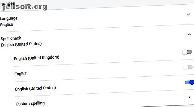 La vérification orthographique de Google Chrome est chouette!  Voici comment utiliser le correcteur orthographique et quelles autres options vous avez.