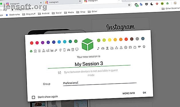 Ces excellentes extensions Chrome vous permettent de gérer facilement plusieurs comptes dans la même fenêtre de navigateur.