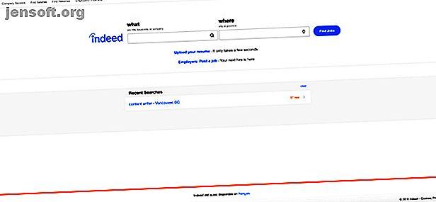 La recherche d'emploi peut être épuisant.  Indeed.com est un outil extrêmement utile qui peut vous aider à maximiser votre recherche d'emploi.