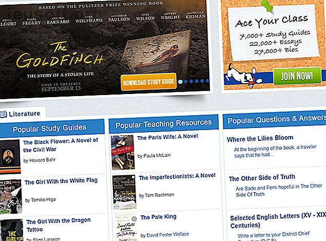 SparkNotes et CliffNotes sont des guides d'étude cruciaux.  Voici d'autres alternatives à SparkNotes et CliffsNotes pour les résumés de livres.