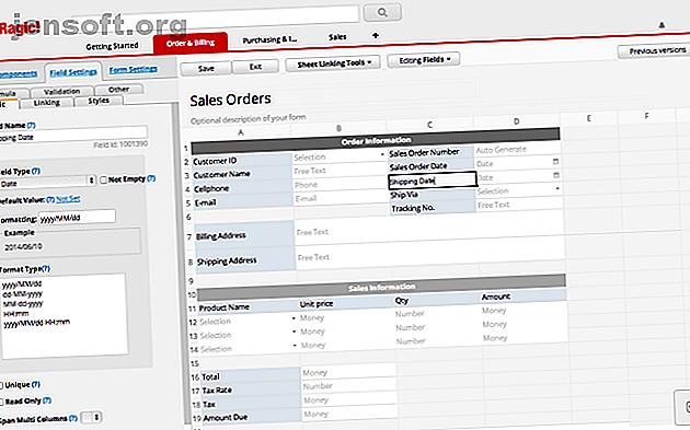 Voici quelques-unes des meilleures applications de base de données en ligne sur le Web qui sont aussi simples que d'utiliser un tableur.
