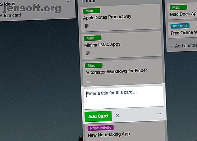 Ces astuces de cartes Trello se cachent à la vue.  Utilisez-les pour améliorer votre productivité.