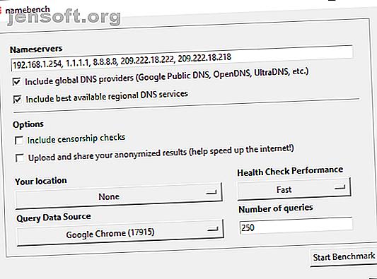 Andere DNS-Server können schneller sein als die DNS-Server Ihres Internetdienstanbieters.  Finden Sie mit diesen Tools die besten DNS-Einstellungen für Ihre Verbindung.