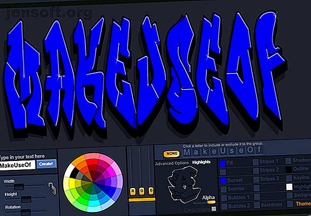 Ces générateurs de graffitis gratuits vous permettent de créer des images graffiti de votre nom, logo ou autre texte.