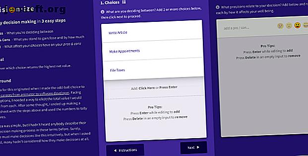 Was tun Sie, wenn Sie vor einer schwierigen Entscheidung stehen?  Diese Entscheidungs-Apps finden in jeder Situation die richtige Wahl.