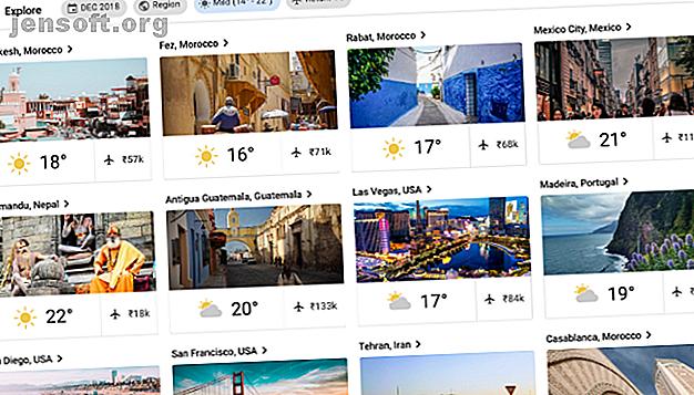 Vous ne savez pas où aller ensuite?  Ces applications vous aideront à trouver votre prochaine destination sur la base de filtres uniques