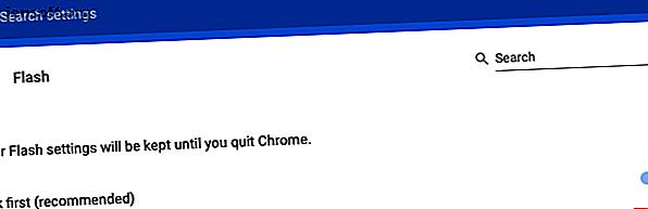 Google Chrome नहीं चाहता है कि आप Adobe Flash Player का उपयोग करें।  यहां बताया गया है कि अगर आपको जरूरत है तो फ्लैश इन क्रोम को कैसे सक्षम किया जाए।