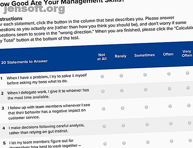 Möchten Sie mehr darüber erfahren, wie Sie als Manager sind und was der Job eines Chefs wirklich ist?  Diese Tools machen Sie zu einem besseren Führer.