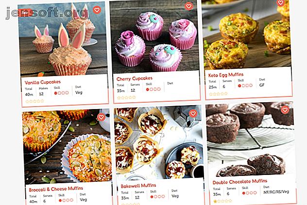 Sie haben keine Ideen mehr, um ein leckeres Gericht zu backen?  Hier sind einige der besten Webressourcen, mit denen Sie sich inspirieren lassen können.