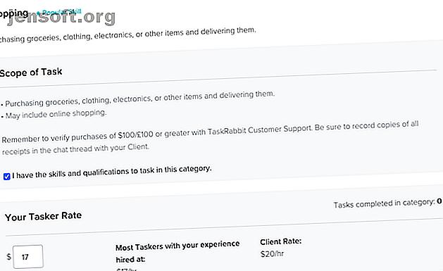 Vous n'avez pas de compétences spécialisées?  Vous pouvez toujours gagner de l'argent en tant que TaskRabbit Tasker et aider les gens à libérer leur temps.