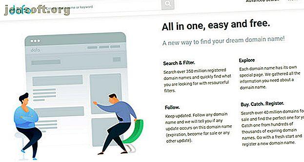 Vous voulez trouver un nom de domaine disponible pour votre site web?  Ces outils de recherche de domaine vous aideront à trouver rapidement le bon.