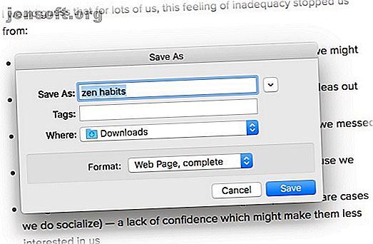 Utilisez ces méthodes pour enregistrer des pages Web en vue d'une lecture hors connexion et conservez vos pages Web préférées à portée de main lorsque vous en avez le plus besoin.