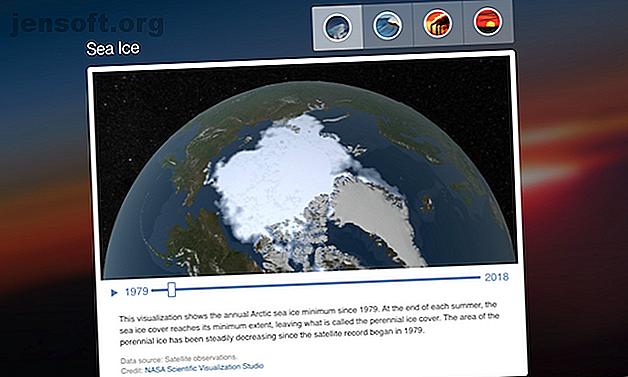 Questi siti ti aiutano a visualizzare gli effetti devastanti del riscaldamento globale e dei cambiamenti climatici.
