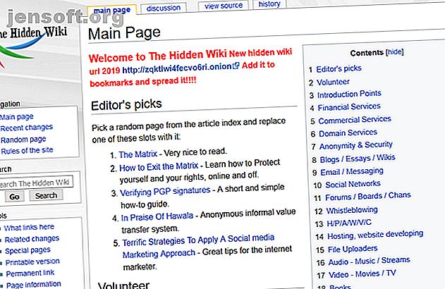 Le Web sombre n'est pas pour tout le monde, mais il vaut la peine d'explorer certaines de ses parties.  Voici les meilleurs sites Web sombres.