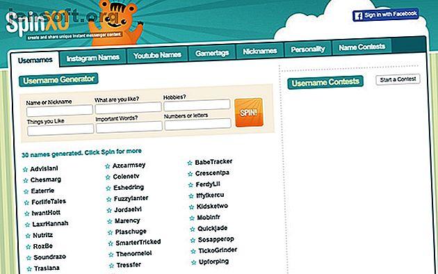 Choisissez un nom en ligne qui reflète votre personnalité.  Ces générateurs de noms d'écran vous aideront à choisir un nom d'affichage sympa.