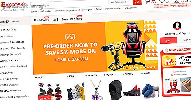 Το AliExpress δεν είναι το μόνο κινεζικό site αγορών που μεταφέρεται στις ΗΠΑ.  Ακολουθούν αρκετοί άλλοι ιστότοποι για διεθνείς αγορές.