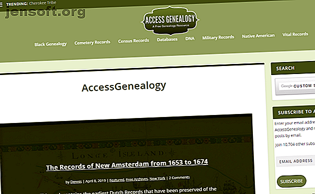 Rechercher votre arbre généalogique est amusant!  Voici plusieurs sites de généalogie gratuits que vous pouvez utiliser sans dépenser un dollar.