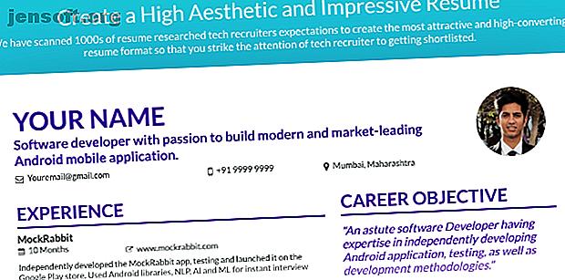 Besoin de votre CV pour vous démarquer?  Utilisez ces outils de création de CV gratuits pour renforcer votre recherche d'emploi et augmenter votre taux de réussite.