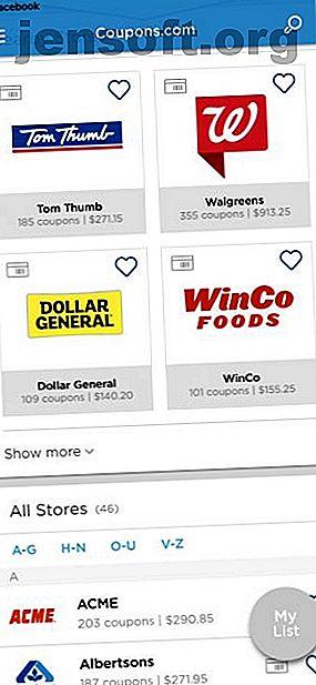 Vous cherchez à économiser de l'argent avec un minimum d'effort?  Découvrez les meilleures applications de coupons pour l'épicerie avec des réductions sur les articles que vous achetez régulièrement.