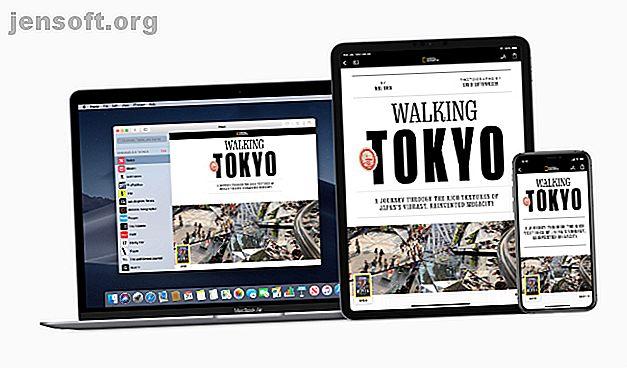 Le nouvel abonnement Apple News + vous permet d'accéder à des centaines de magazines et de journaux à un prix avantageux.  Voilà comment cela fonctionne.
