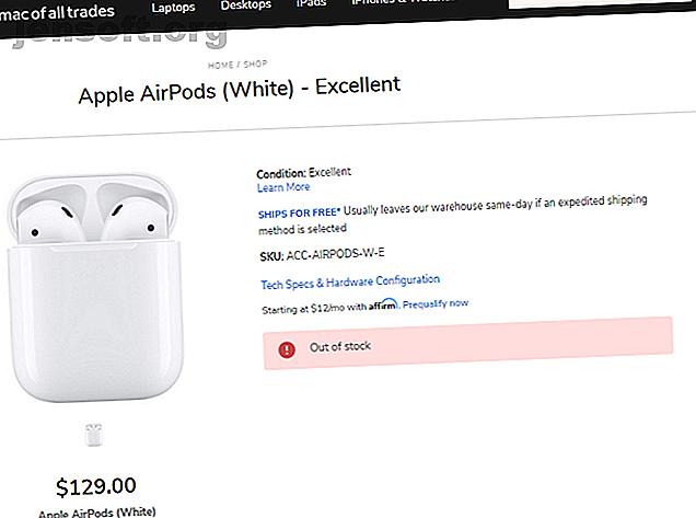 सस्ते के लिए Apple AirPods स्कोर करना चाहते हैं?  सस्ते Apple AirPods खोजने के लिए यहां सबसे अच्छे स्थान हैं।