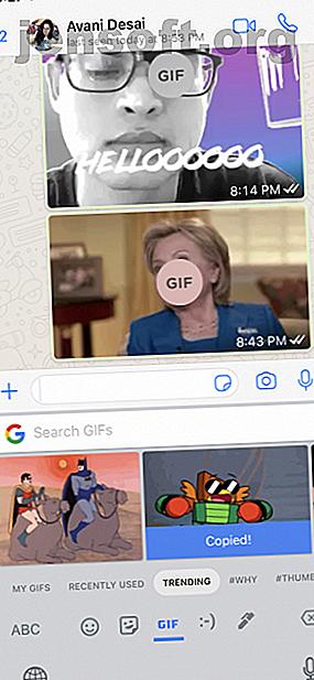 अपने iPhone पर GIFs का उपयोग कर प्यार?  हमारे पास किसी भी GIF हठधर्मी को बनाने, साझा करने और अधिक के लिए सात आईओएस ऐप्स का एक सेट है।